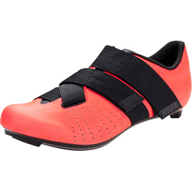 Fizik Tempo Powerstrap R5 Zapatillas Racing Bike, coral/black
